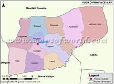 Ifugao Map Map of Ifugao Province, Philippines