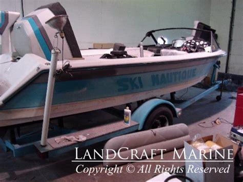 Boat Restoration Pictures by Boat Restoration Photos Before And After Landcraft Marine