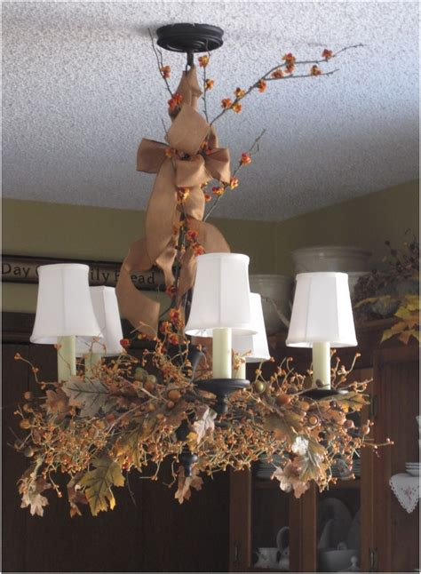 top  diy fall chandelier decorations top inspired