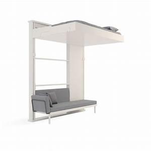 Lit Escamotable Plafond : 25 b sta id erna om lit escamotable plafond p pinterest ~ Premium-room.com Idées de Décoration