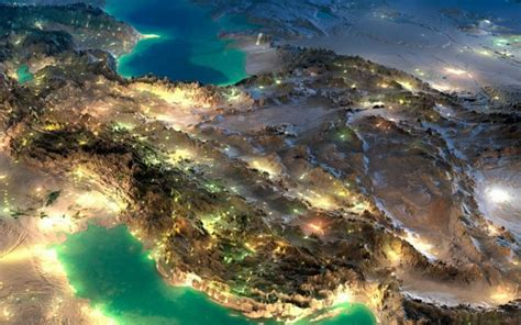 nice satellite images  iran hd wallpaper hd