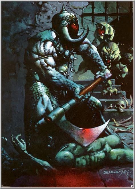 bisley simon death dealer biz comic fantasy arte horror artwork chaos imagenes frank comics punisher guerreros guerrero comics vikingo sobre