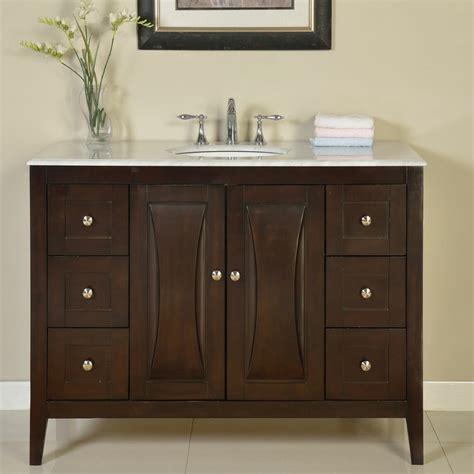 silkroad exclusive 48 quot single sink cabinet bathroom vanity