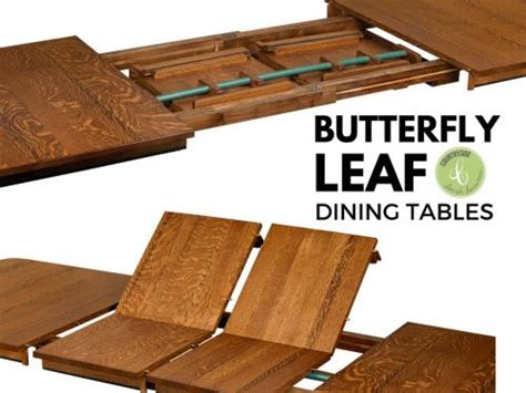 antique butterfly leaf dining table what are butterfly leaf dining tables countryside amish 7464