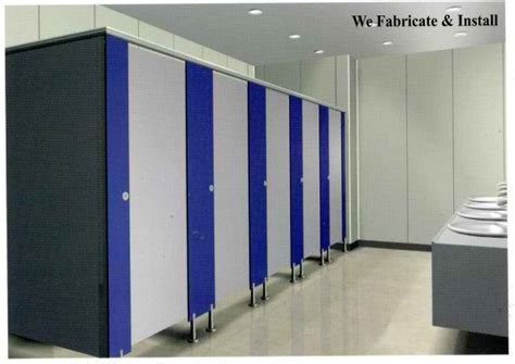 Phenolic Compact Board (Toilet Partition)