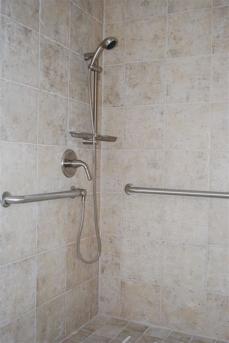 grab bars for shower images