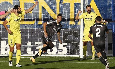 Villarreal vs Real Madrid - LaLiga: Live score, lineups ...