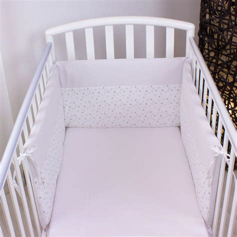paracolpi per culle paracolpi sfoderabile lettino tre lati beige babysanity