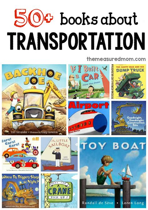 a list of books for a preschool transportation theme 153 | 710bf2fc1fb0df1965660cf430c956c0