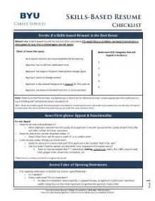 skills checklist resume report prepared for pamel