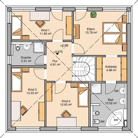 Moderne Häuser Ohne Keller by Stadtvillen In 2019 Haus Three Bedroom House Plan