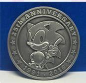 sonic  anniversary coin merchandise revealed
