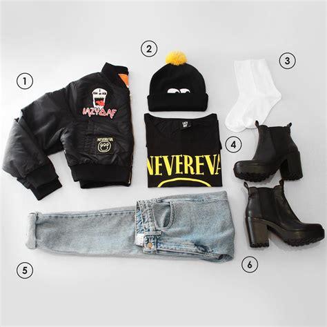 Outfit Grid b u2013 Lazy Oaf