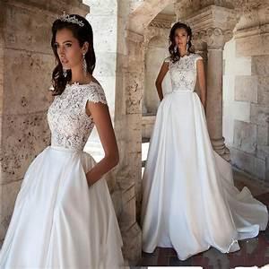 tag short sleeve wedding dress with pockets archives With wedding dress with pockets and sleeves