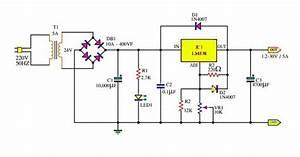 Adjustable Power Supply 1 2  U2013 30v 5a Using Lm338