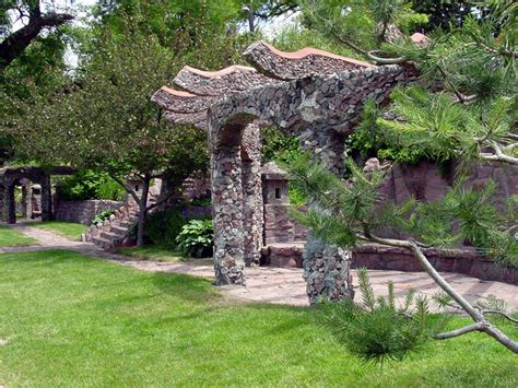 terrace park japanese garden city  sioux falls