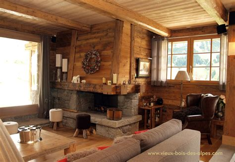 interieur chalet vieux bois r 233 alisations exemples de travaux vieux bois
