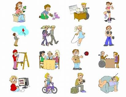 Daily Activities Puzzle Teens Projects