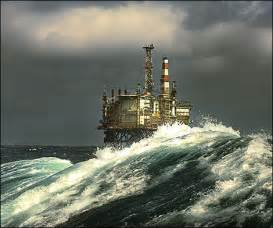 Pictures of North Sea Oil
