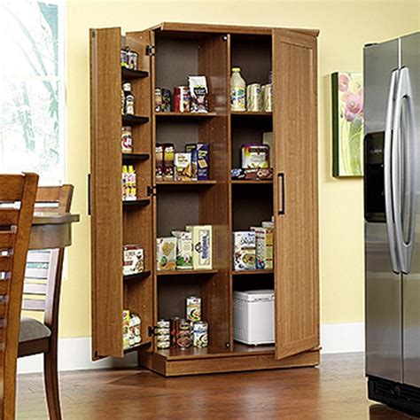 Sauder Home Plus Sienna Oak Storage Cabinet411965  The