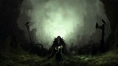 Sorcerer Dark Background Wallpapers Evil Desktop 1080