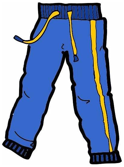 Pants Clipart Sweat Trousers Clothes Pant Jeans
