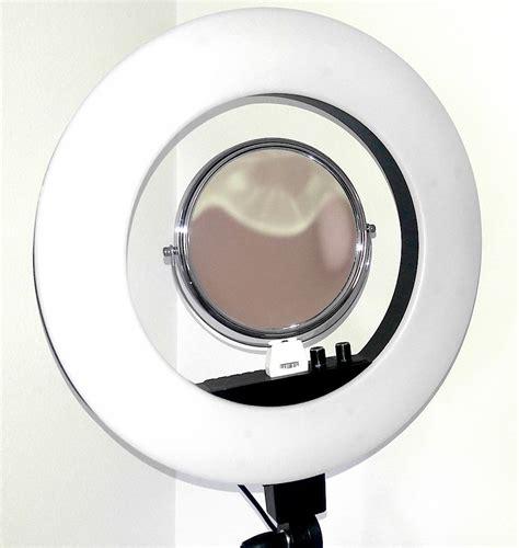 ring light with phone holder free name logo tuscanypro 18 quot led ring light w brush