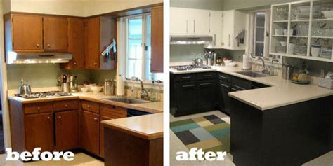 cheap kitchen makeover ideas before and after renovation inspiration 10 kitchen before afters apartment therapy