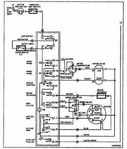 Wiring Diagram Of Washing Machine Motor