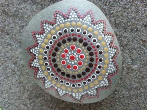 Dot Painted Rocks Art