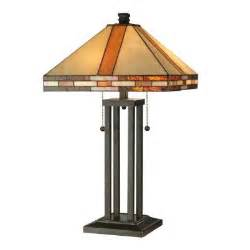 dale tiffany mission 24 5 in antique bronze table l