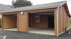 garages prefabriques en beton et beton aspect bois sur mesure With garages en bois prefabriques