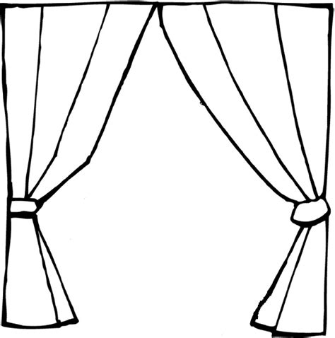 dessin rideau de th 233 226 tre vierge pour cr 233 er une affiche la classe de myli breizh