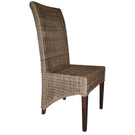 chaise tressée chaise rotin tressée pier import