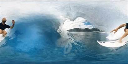 360 Surfing Vr Gopro Tahiti Behind Rapid