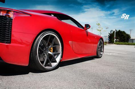 Lexus LFA wheels gallery. MoiBibiki #2