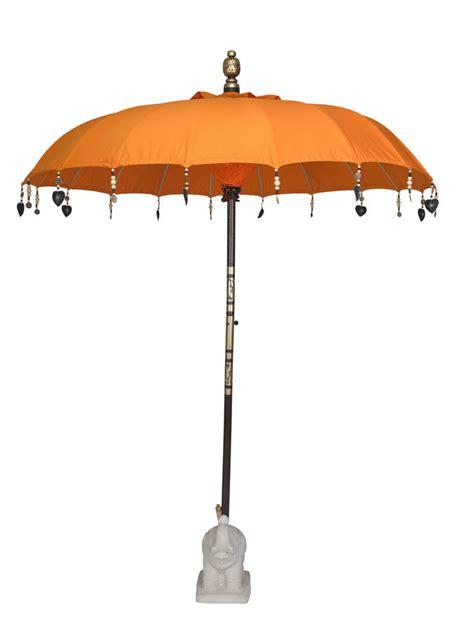 orange garden umbrella by indian garden company