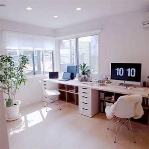 Büro Zuhause Einrichten : clean 1 2 of the studio aussortieren pinterest arbeitszimmer buero und b ros ~ Frokenaadalensverden.com Haus und Dekorationen