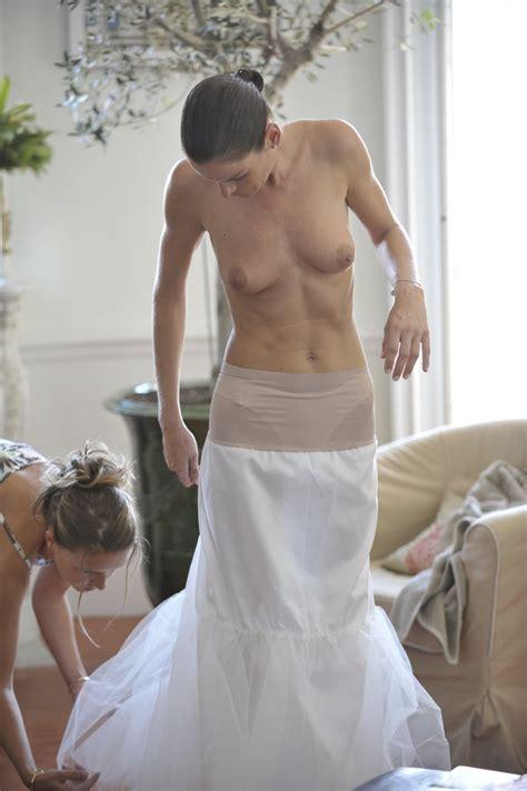 Home Porn Jpg   Bride changing into her wedding dress