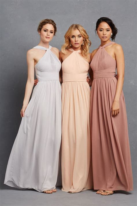 Chic Romantic Bridesmaid Dresses To Mix And Match
