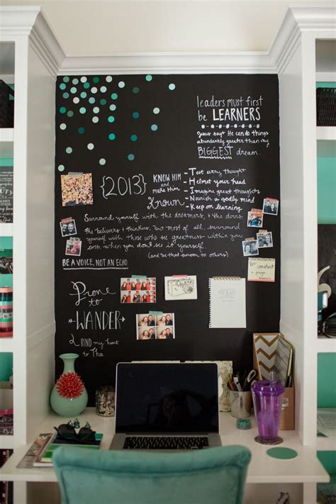 stylish teen s bedroom ideas homelovr 23 stylish teen girl s bedroom ideas homelovr 23 | Teen Bedroom Chalkboard Wall