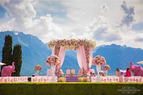 grand nri wedding  switzerland  brought  city