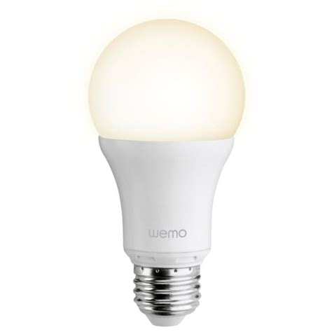 wemo light bulb belkin wemo led single light bulb sowia