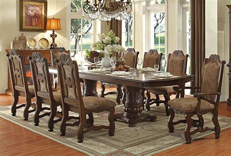 how to set a formal dining room table thurmont victorian formal dining table set