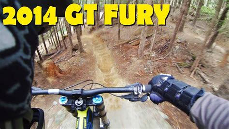 2014 GT Fury Downhill Mountain Biking - Whistler Bike Park ...