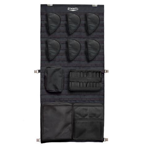 Stack On Security Cabinet Accessories by Stealth Tactical Molle Gun Safe Door Panel Organizer