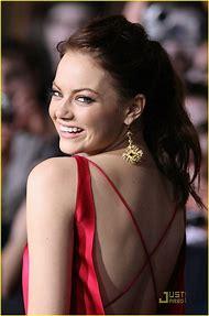 Emma Stone Zombieland Premiere