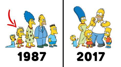 Evolutions Of Popular Cartoons