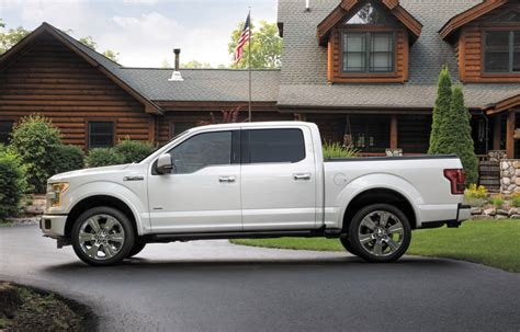 2016 Ford F150 Limited by 2016 Ford F 150 Limited Loads Up On Luxury And Tech