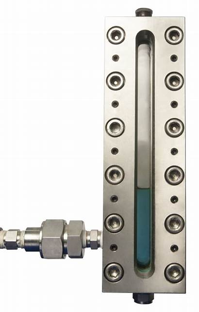 Level Liquid Gauge Stainless Thru Steel Gauges
